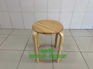 Ghế đôn gỗ - Ghế đẩu - Ghế gỗ Ngọc Phát
