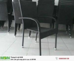 Ghế cafe giả mây giá rẻ cực rẻ VĐ180