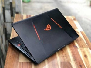 Laptop Asus Rog GL553VD/ i7 7700HQ/ Ram 8G/ SSD128+1000G/ Vga GTX1050M 4G/  Full HD/  LED 7 màu/ Giá rẻ