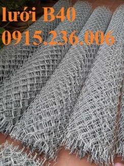 Lưới B40 mạ kẽm khổ 2m4 hàng sẵn kho giá tốt