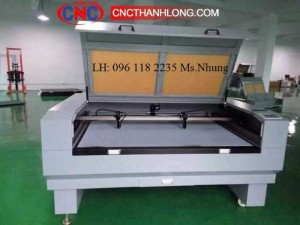 Máy cắt vải laser 1610 - 2 đầu công suất lớn