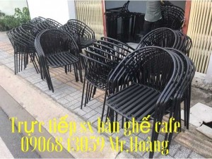 Ghế sắt cafe tuyệt đẹp giá rẻ