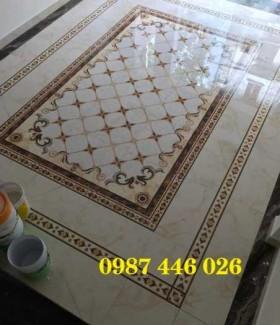 Gạch thảm trang trí nền phòng khách khổ lớn HP7211