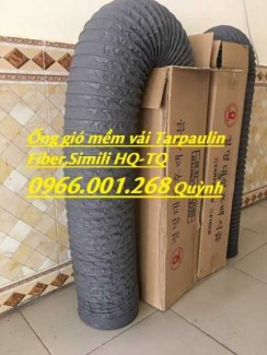 Chuyên cung cấp ống gió mềm vải Hàn Quốc phi 100,phi 125,phi 150,phi 200,phi 300 giá tốt nhất