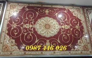 Gạch thảm phòng khách, gạch lát nền, gạch hoa văn HP8222
