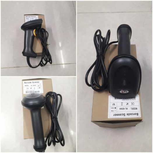 Đầu đọc mã vạch cầm tay Barcode scanner XL-626A đơn tia Laser