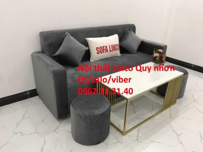 Bộ sofa băng SFB01, Nội thất Sofa Linco Quy Nhơn, Bình Định