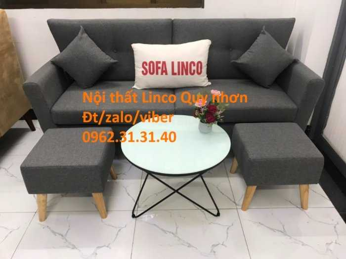 Bộ sofa băng SFB02, Nội thất Sofa Linco Quy Nhơn, Bình Định