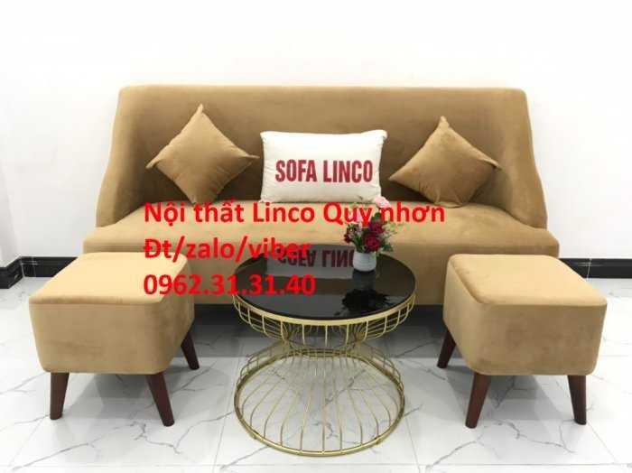 Bộ sofa băng SFB06, Nội thất Sofa Linco Quy Nhơn, Bình Định