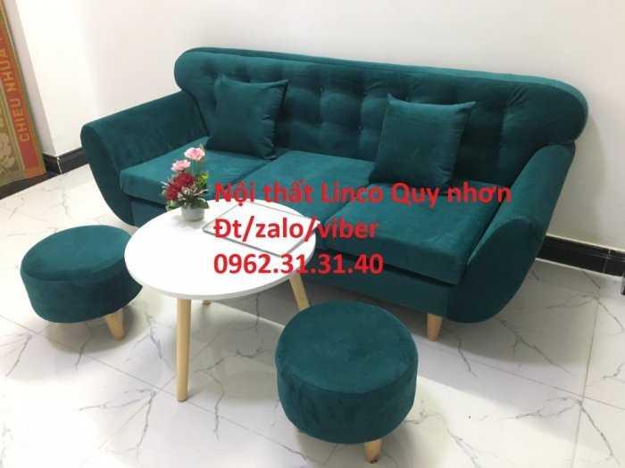 Bộ sofa băng SFB04, Nội thất Sofa Linco Quy Nhơn, Bình Định