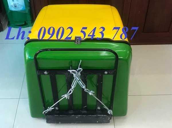 Thùng giao hàng sau xe máy ,thùng giữ nhiệt