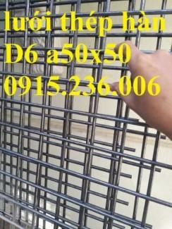 Lưới thép hàn D6 a200x200 hàng sẵn kho giá tốt
