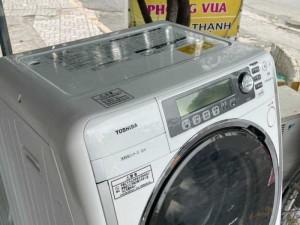 Máy giặt nội địa Nhật TOSHIBA TW-5000VFL Giặt 9 kg, sấy 6kg, Sấy Block còn đẹp leng keng luôn nha