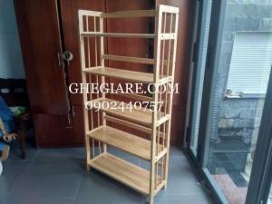 Kệ gỗ cao su giá rẻ tại Hồ Chí Minh , Miễn phí giao hàng
