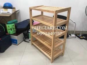 2020-11-29 14:34:57  2  Kệ gỗ cao su giá rẻ tại Hồ Chí Minh , Miễn phí giao hàng 400,000