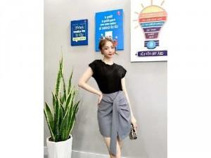 2020-11-29 15:13:51 Set bộ Chân váy Hàn quốc phối áo thun SG 310,000