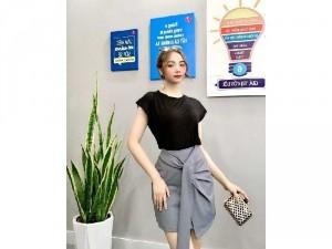 2020-11-29 15:13:51  2  Set bộ Chân váy Hàn quốc phối áo thun SG 310,000
