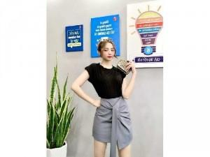 2020-11-29 15:13:51  4  Set bộ Chân váy Hàn quốc phối áo thun SG 310,000