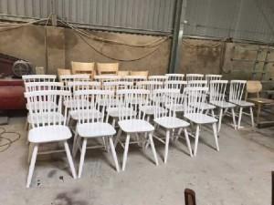 Ghế gỗ cafe 7 nan giá xưởng