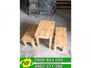 2020-11-29 20:29:50  3  Bàn ghế gỗ thấp giá tốt tại xưởng 130,000