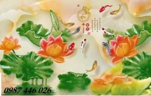 2020-11-30 08:34:14  11  Tranh gạch hoa sen, tranh ốp tường, tranh trang trí Hp8733 1,200,000
