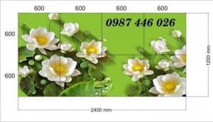 2020-11-30 08:34:14  10  Tranh gạch hoa sen, tranh ốp tường, tranh trang trí Hp8733 1,200,000
