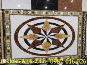 2020-11-30 08:42:46  6  Gạch thảm trang trí, gạch hoa văn, tranh gạch men HP7321 2,690,000