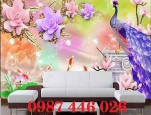 2020-11-30 09:00:33  7  Tranh gạch chim công, tranh ốp tường, gạch trang trí HP489 1,200,000