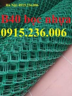 2020-11-30 09:38:03  1  Hàng rào B40, lưới thép B40 mạ kẽm, bọc nhựa giá rẻ 1,000