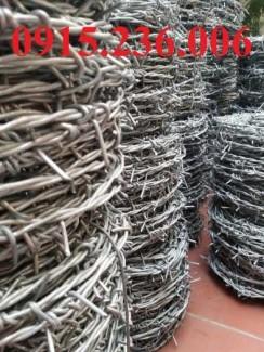 2020-11-30 09:49:43  4  Dây thép gai nhọn, hàng rào thép gai nhọn luôn sẵn hàng, giao tận nơi 1,000