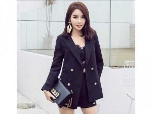Set vest quần short phong cách Hàn Quốc