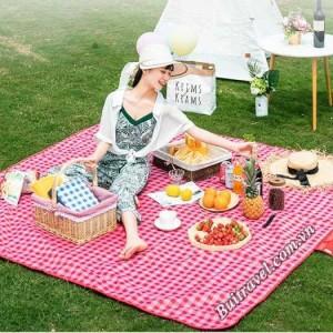 Thảm trải dã ngoại, picnic caro 2mx2m BB4119