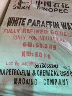 Bán Parafin Wax 58, 60 Kunlun, Sinopec