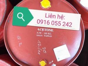 Acetone. Axetone, C3H6O Đài Loan Phuy 160Kg