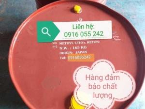 Methyl Ethyl Ketone Nhât/ Chinna Phuy 165Kg
