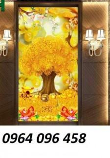 Tranh cây tiền - gạch tranh 3d cây tiền