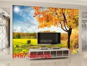 Gạch ốp tường, tranh 3d, gạch trang trí phòng khách HP18566