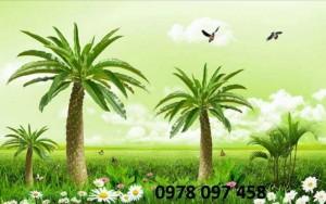 Tranh phong cảnh - tranh gạch men trang trí phòng đẹp