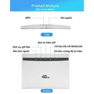 BỘ phát wifi từ sim 4G ROUTER cpe B525 - lắp ô tô khách 32 user tặng 2 Anten