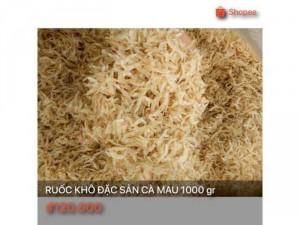 Ruốc khô đặc sản Cà Mau 1000 gr