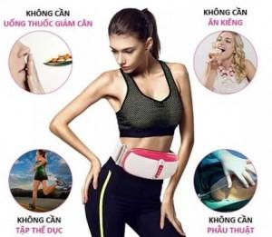 Đai giảm béo bụng chính hãng,máy massage hồng ngoại giảm béo bụng
