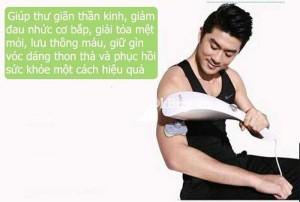Máy massage Hàn Quốc Ayosun: máy mát xa cầm tay 11 đầu,máy mát xa giảm đau chân hiệu quả