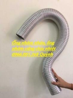 Ống nhôm cứng , ống nhôm nhún , ống thông gió chịu nhiệt cao D 100,D 150,D 200 ,D300 giá rẻ