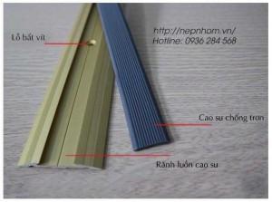 Nẹp mặt bằng, nẹp nhôm nối sàn, nẹp trang trí, phụ kiện sàn gỗ tại Hải Phòng
