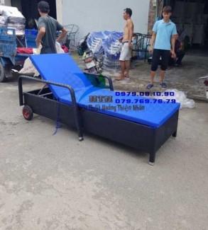 Ghế nằm relax,Giường tắm nắng hàng xưởng sản xuất,giá bao tốt VĐGI023