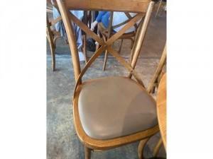 Ghế cafe gỗ ash bọc nệm cao cấp VĐ055