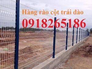 Hàng rào sơn tĩnh điện, hàng rào mạ kẽm nhúng nóng, hàng rào khu công nghiệp