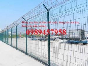 Sản xuất hàng rào lượn sóng, Hàng rào gập tam giác 2 đầu, Hàng rào mạ kẽm