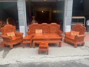 Bộ bàn ghế Khổng Tửgỗ hương đá