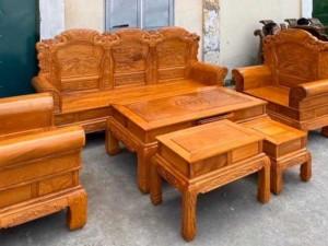 Bộ bàn ghế khổng tử gỗ gõ đỏ